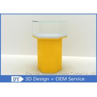 Yellow Cabinets Jewellery Display Showcase / Jewelry Display Cases Manufactures