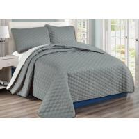 Buy cheap 100%Cotton Washable Durable Bed Spread Sets With Comforter / Pillow Case / Pillow Sham from wholesalers