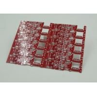 Double Sided Printed Circuit Board Red Solder Mask PD Free HASL Finish Manufactures