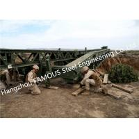 Easy Installation Temporary Steel Structure Bailey Bridge Military Application Manufactures