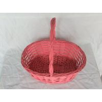China factory cheap christmas empty wicker baskets wholesale on sale