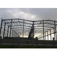 Q345 Steel Structure Workshop Fabrication For Mechanical Manufacture Manufactures