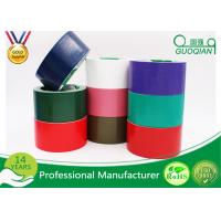 China Waterproof Sticky Rubber  Adhesive Cloth Duct Tape Roll , Thickness 0.13mm - 0.44mm on sale