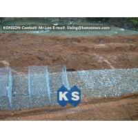 Stainless Steel Galvanized Hexagonal Wire Mesh Gabion Boxes , 0.5mm Thick PVC Coated Manufactures