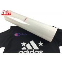 50cm*25m Perforated Heat Transfer Vinyl , White Heat Transfer Vinyl For T Shirts Logo Manufactures