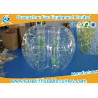 China Customized Size Bubble Soccer Ball outdoor sport games Heat Sealed Technical on sale