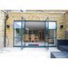 Buy cheap Soundproof Aluminium Casement Door Thermal Break Out Swing Exterior Door from wholesalers