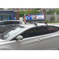 Dual Sides Programmable Taxi Led Display , IP65 Level Rgb Taxi Led Screen Manufactures