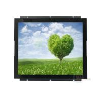 China IP65 17'' Touch Screen Open Frame LCD Monitor IR Touchscreen With VGA DVI Interfaces on sale