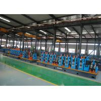 Stainless Steel ERW tube Mill , 21 - 63mm Diameter Pipe Welding Line Manufactures