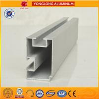 6m Length Aluminium Industrial Profile For Sliding Window With Built - In Blinds Manufactures