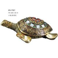 Home Decoration Polyresin Turtle Statue (D24-72007) Manufactures