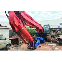 High Speed Excavator Mounted Pile Driver No Pollution Environmental Friendly Manufactures