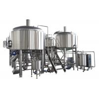 35HL 4 BBL Brewing System SS304 Fabrication Steam Heating For Mashing Process Manufactures