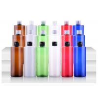 Flip Cap Decorative Shampoo Containers 500ml UV Coating For Smooth Body Skin