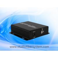 AHD video data fiber converter for 1CH 720P/1080P/3MP/4MP/5MP AHD signal with 1CH RS485 data over 1SM/MM fiber Manufactures