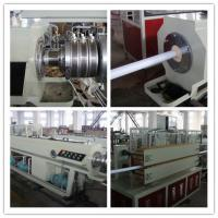 China Rigid PVC Pipe Extrusion Line Pvc Pipe Extrusion Machine For Sweage Treatment on sale