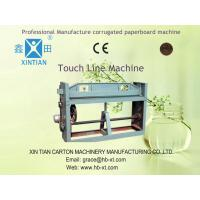 Single 3 / 5 ply Corrugated Box Making Machine , Paperboard Production Line Manufactures