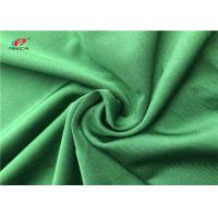 4 Way Lycra Dry Fit Swimming Lycra Fabric 90% Polyester 10% Spandex Green Color Manufactures