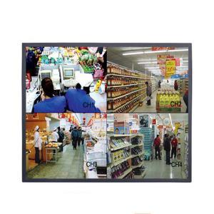 China Desktop Square 19 Inch CCTV LCD Monitor High Brightness 110 - 240V Input Voltage on sale
