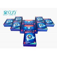 Hand Washing Powder Sheets Dissolve Quickly With 24 Pcs Color Capture Kit Manufactures