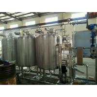 Automatic Control 3000L CIP Washing System SUS304 Material To Clean Pipe Tank Manufactures