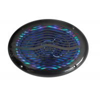 China RGB led 2 way stereo Waterproof Coaxial Marine Audio Speakers with remote controller for yacht on sale