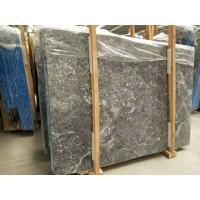 Decorative Grey Marble Floor Tiles Pattern Polished With White Veins Manufactures