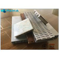 Perforated 6mm Side Length Aluminum Honeycomb Material Core Anti Static Composite Floor Manufactures