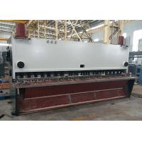CNC Guillotine Shearing Machine In Metal Plate Or Iron Sheet Cutting Manufactures