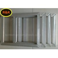 18-420 Mesh / Inch Silk Screen Aluminum Frame For Glass Printing Alkali Resistance Manufactures