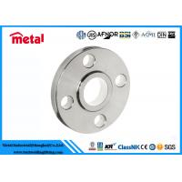 China Precision Duplex Stainless Steel Pipe Flange ASTM UNS32760 SO Flange Class 300 on sale