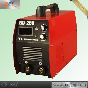 China Inverter 220v DC 210A output IGBT inverter MMA ARC Stick welder - ZX7-250 on sale