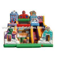 Hot Sale Inflatable Softplay, Inflatable Slide With Pillars For Kids Manufactures