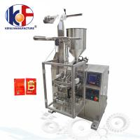 Manufacturing automatic tomato paste sachet packing machine price ketchup packing machine Manufactures