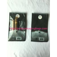 1 – 8 Colors Printing Cigar Packaging Bag With Slid Zip Lock / Humidifier System Manufactures