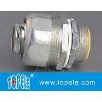 Flexible Conduit And Fittings , Straight Malleable Iron Liquid Tight Connector Manufactures