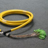 China 96 Cores Pre Terminated Fiber Optic Cable SC End OS2 Singlemode 0.9mm on sale