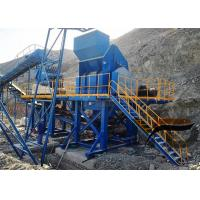 High Recovery Rate Stone Crushing Production Line With ISO9001 Certification Manufactures