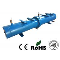 Quality Long Life Horizontal Shell And Tube Condenser For Central Air Conditioning for sale