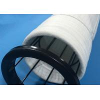 Dust Collector Polyester Felt Filter Bag Round Bottom Type With PTFE Membrane Manufactures