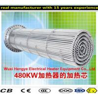 PT100 Thermostat Tubular Immersion Heaters With Temperature Sensor Manufactures