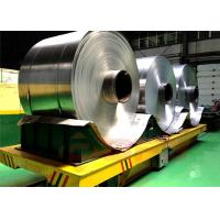 Large Table Coil Transfer Cart Electric Steel For Precise Pipe Industry Manufactures