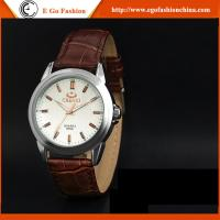 005A New Fashion Women Men Quartz Stainless Steel Watch Rhinestones Couple Leather Watches Manufactures