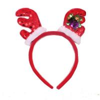 Fashion Antlers Headband Hat - Plush Rindeer Ears Costume Accessory For Party Manufactures
