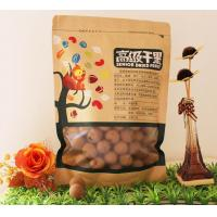 Flat Bottom Zipper Kraft Paper Food Plastic Bags With Clear Window Manufactures