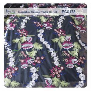 Coast Multi - Color Floral Lace Fabric Cotton Lace Trim For Wedding Dress Manufactures