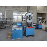 Computerized Electro Servo Hydraulic Testing Machine 0.01mm Displacement Resolution Manufactures
