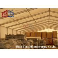 China Weatherproof Grown Marquee Party Tent With Different Colors Capacity 50 People on sale