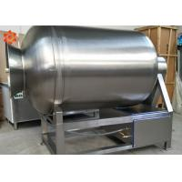 Stainless Steel Meat Processing Equipment Vacuum Meat Tumbler 2 - 20r/Min RotateSpeed Manufactures
